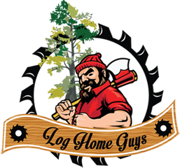 [Log Home Guys Logo image, Lake City Florida]